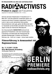 Flyer Berlinpremiere
