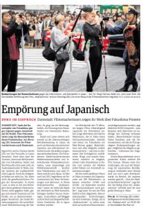 Empörung auf japanisch